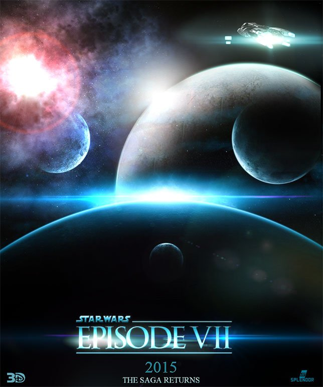 Фанатские постеры Star Wars: Episode VII - Изображение 40