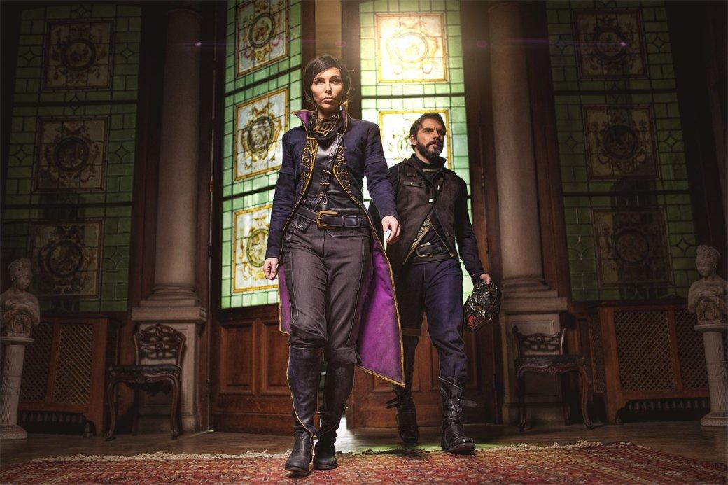 Косплей дня: Корво Аттано и Эмили Колдуин из Dishonored 2 - Изображение 7