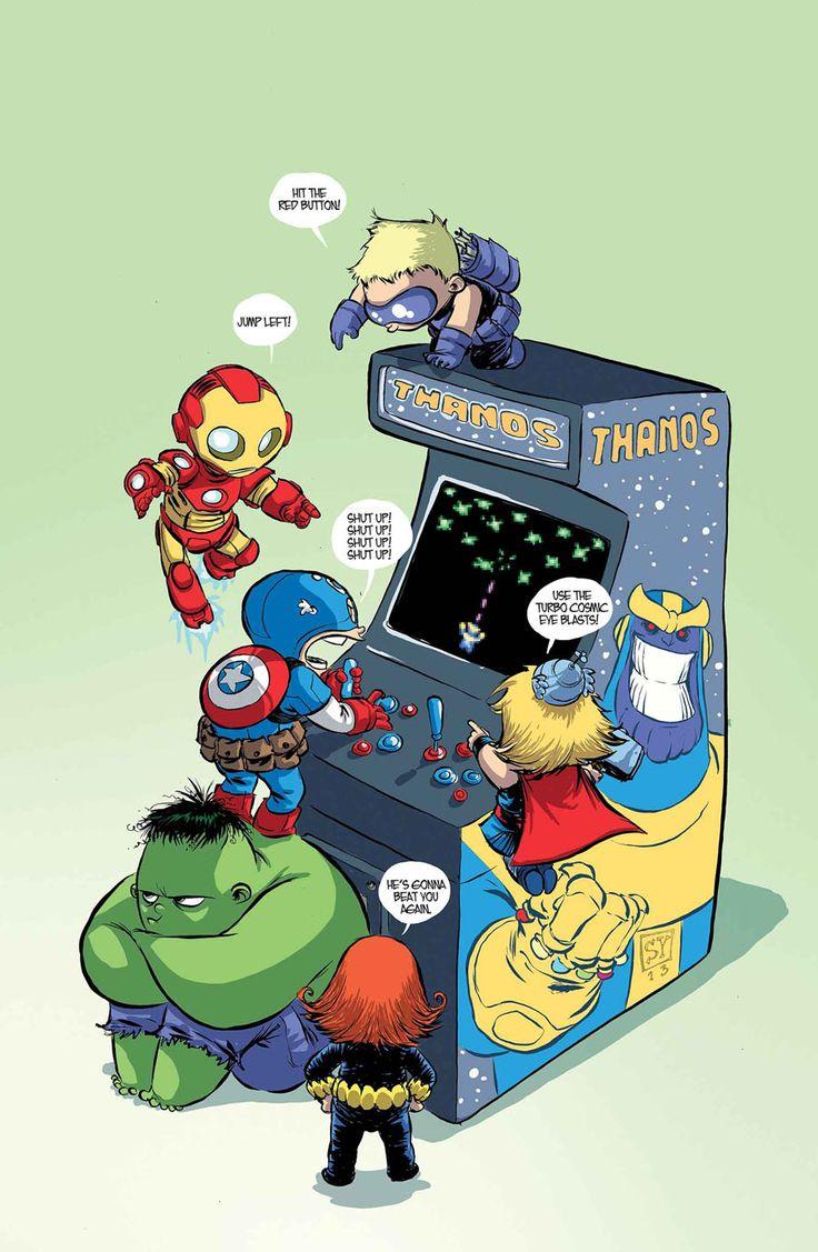 Галерея вариаций: Мстители-женщины, Мстители-дети... - Изображение 85