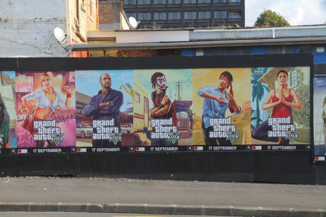 В сети появились новые арты Grand Theft Auto V - Изображение 1