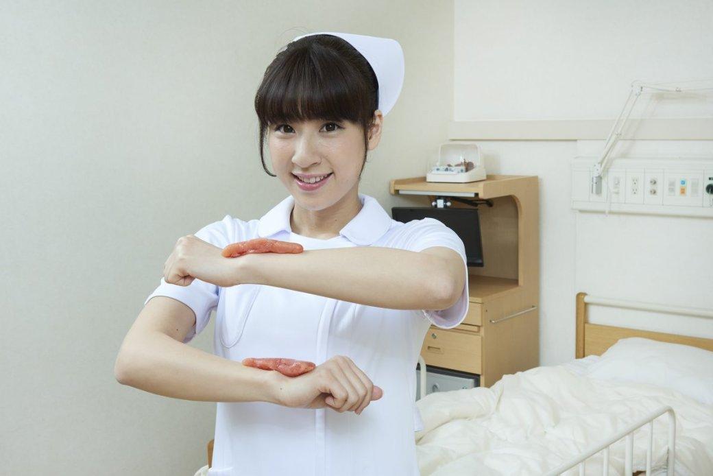 Японская медсестра делает странные вещи нафото - Изображение 4