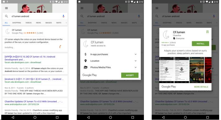 Google позволит устанавливать приложения прямо из поисковика - Изображение 1