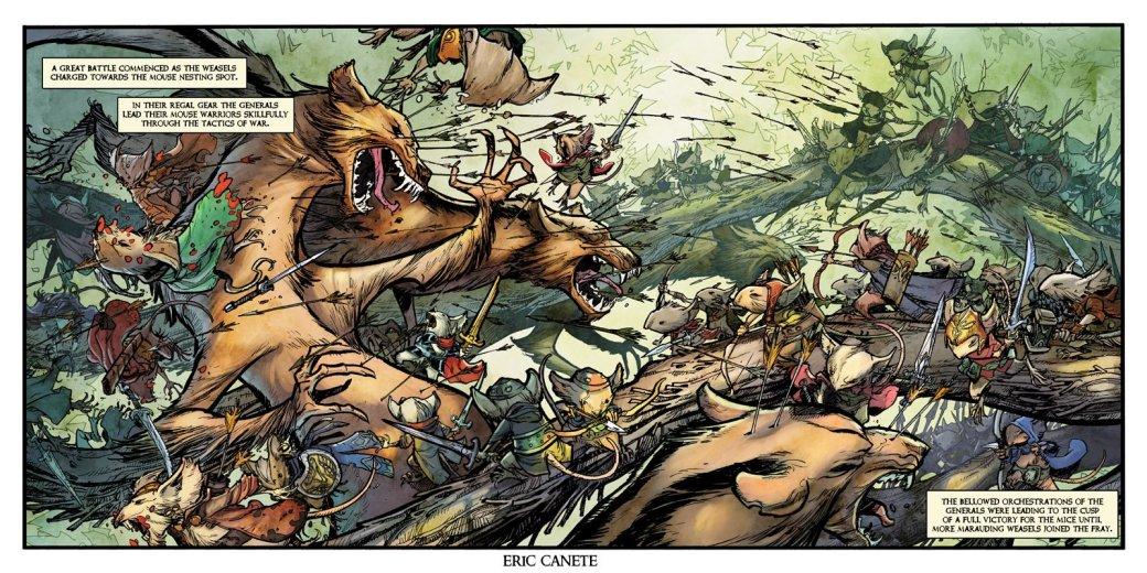 5 комиксов, похожих на«Игру престолов». - Изображение 9