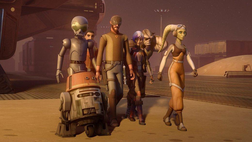 Мультсериал Звездные Войны: Повстанцы (Star Wars Rebels): Пляжа не будет. «Звездные войны. Повстанцы» не покажут Скариф и Джеду