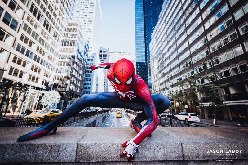 Косплей Человека-паука в его естественной среде обитания - Изображение 3