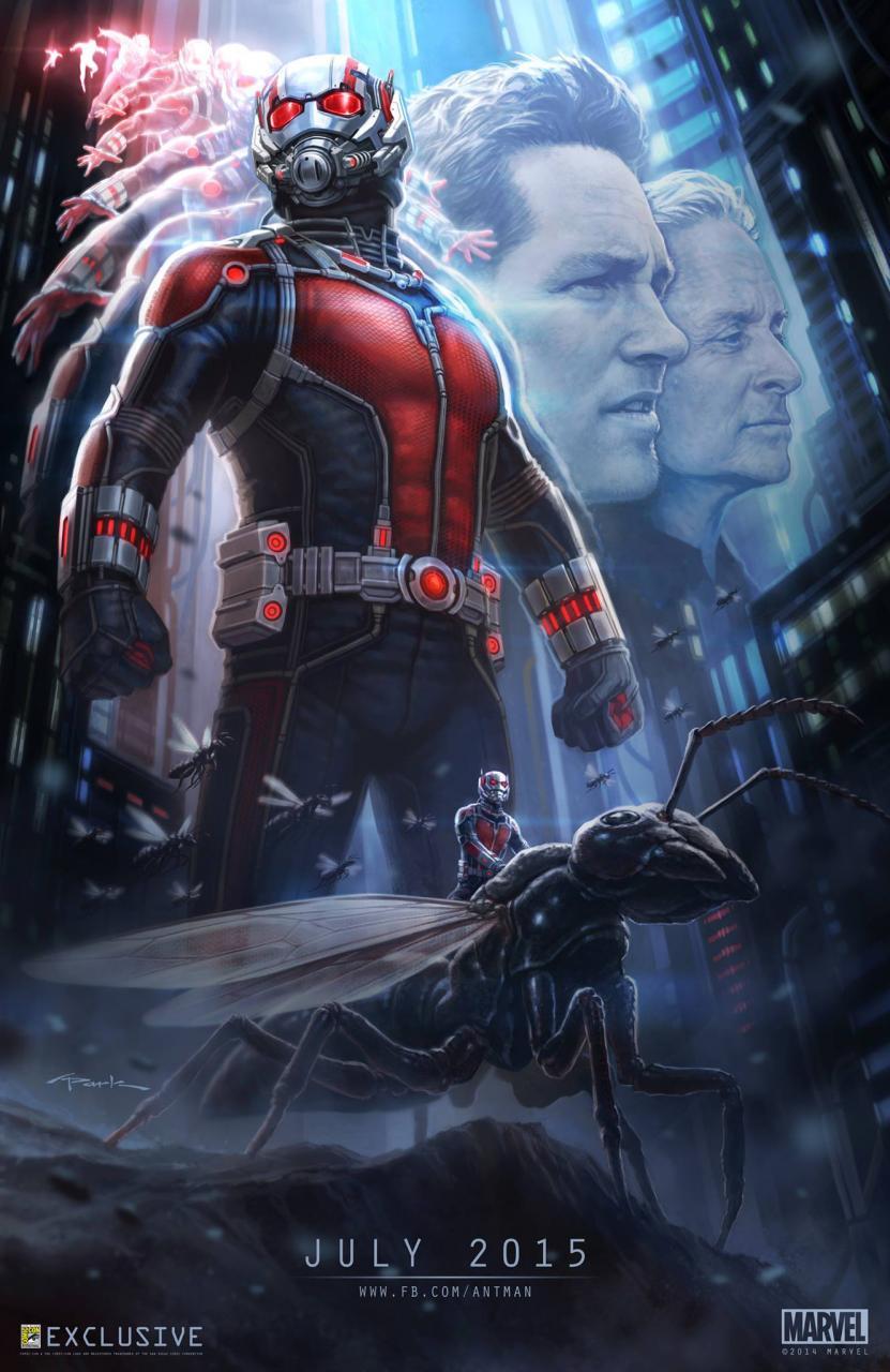 Лучше, чем официальные: альтернативные постеры «Человека-муравья» - Изображение 10