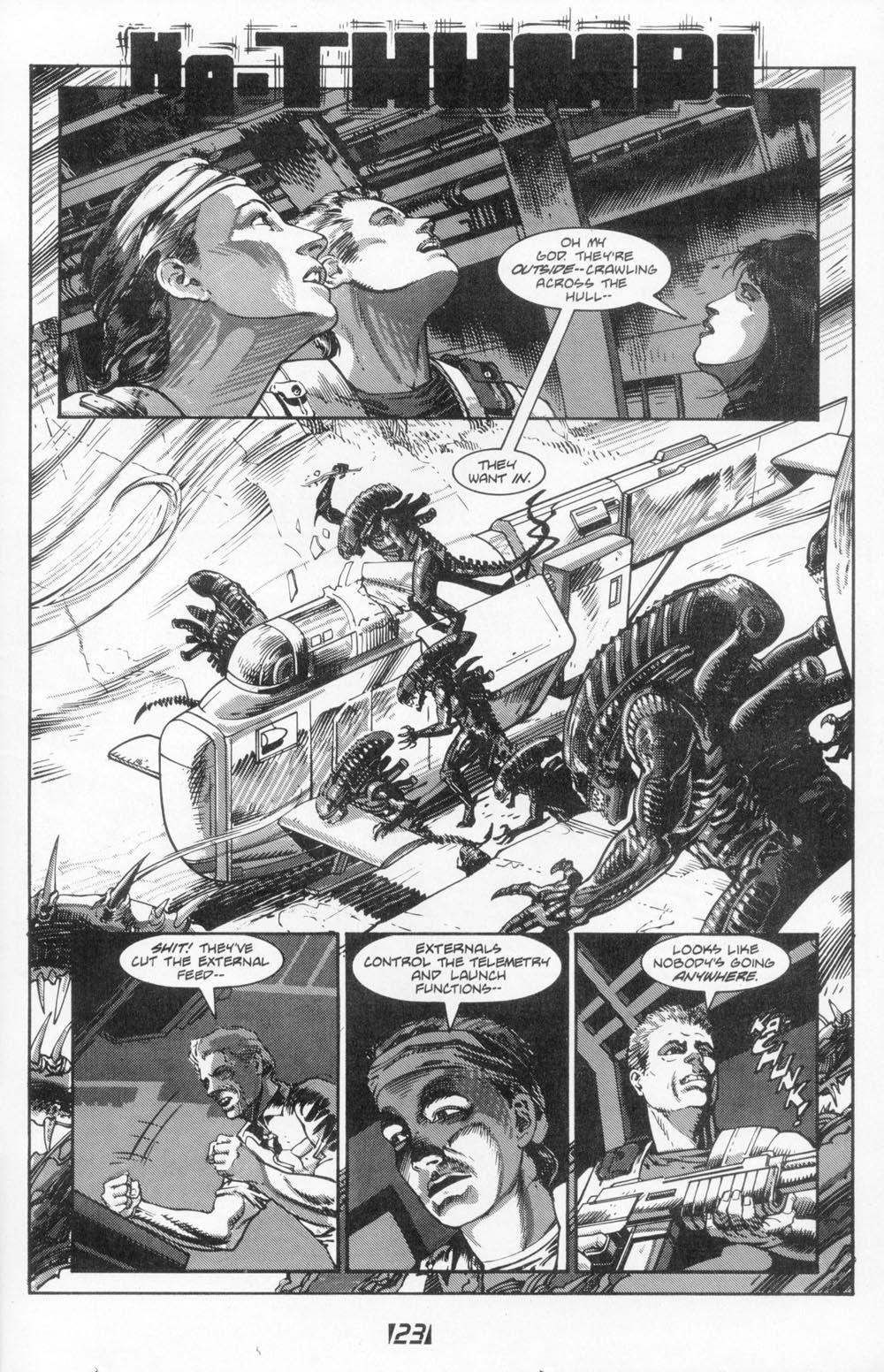 Жуткие комиксы про Чужих, откоторых кровь стынет вжилах. - Изображение 8