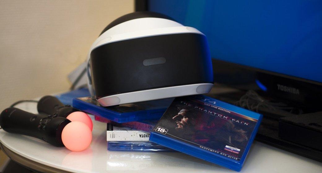 Распаковка ипервые впечатления отPlayStation VR. - Изображение 1