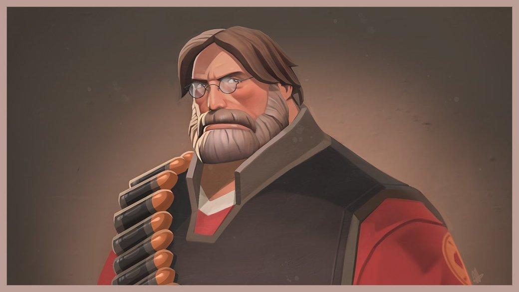 Лицо Гейба Ньюэлла стало шапкой для Team Fortress 2 - Изображение 1