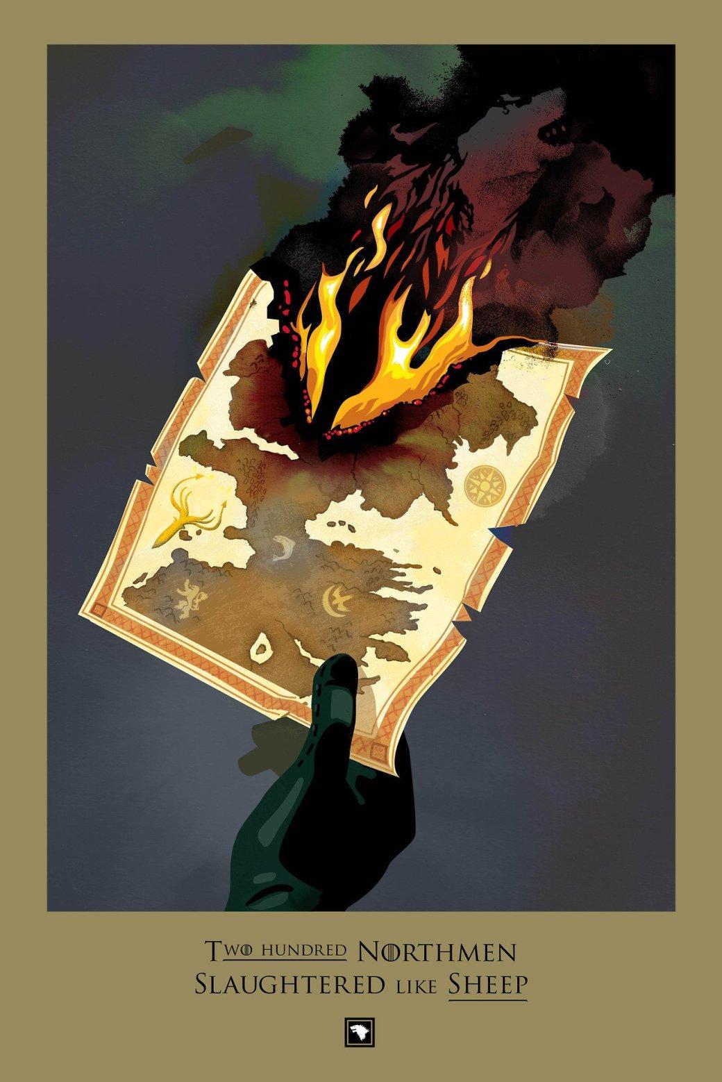 Лучший арт по «Игре Престолов» - Изображение 35