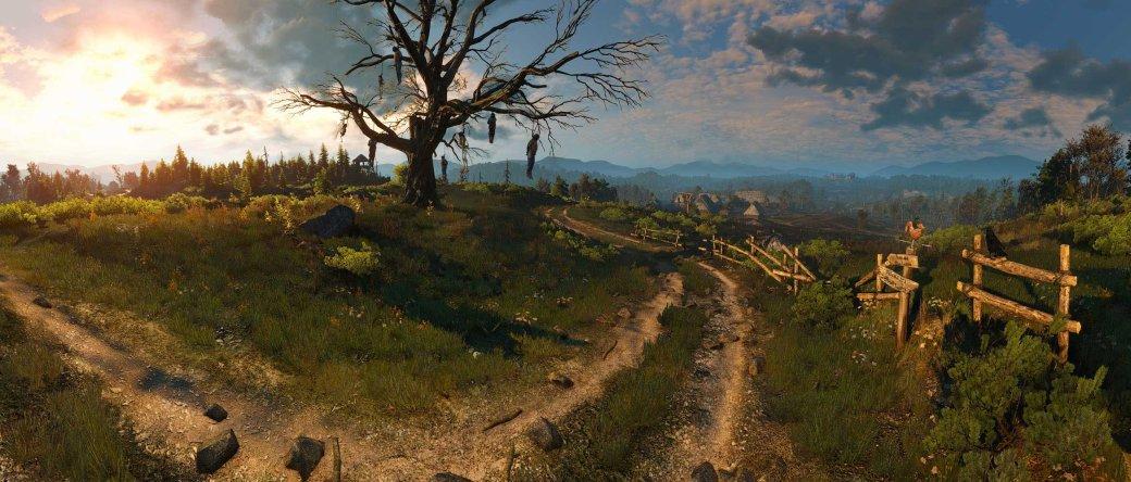 Вот так (а не как у меня) должна выглядеть The Witcher 3: Wild Hunt - Изображение 9