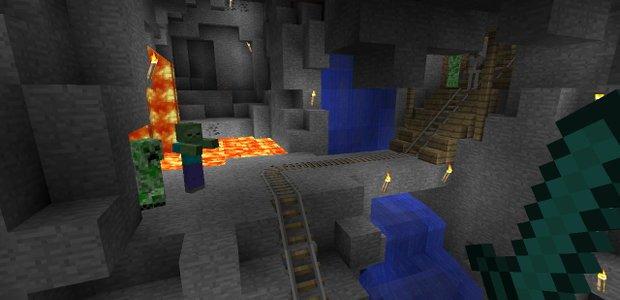 Боевое обновление Minecraft добавляет новые атаки, оружие и врагов - Изображение 1