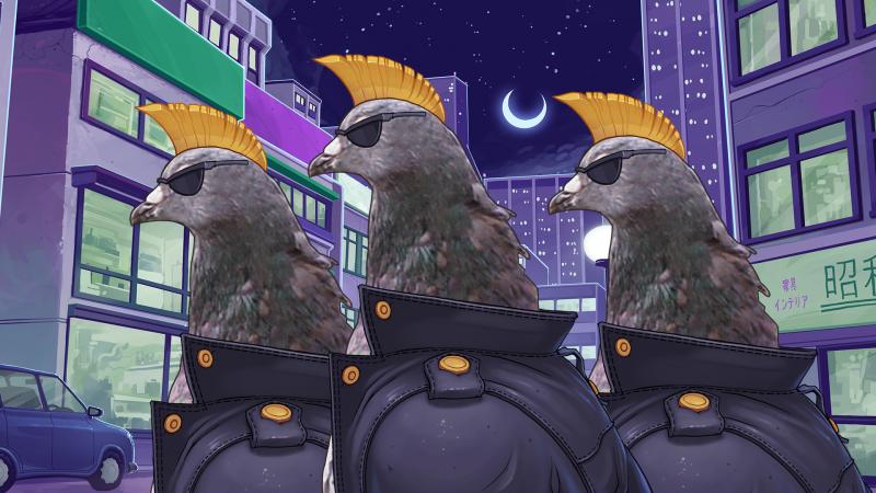 Симулятор свиданий с голубями переделают для западных игроков  - Изображение 1