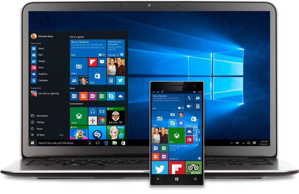Windows 10 используется на 200 млн устройств - Изображение 1