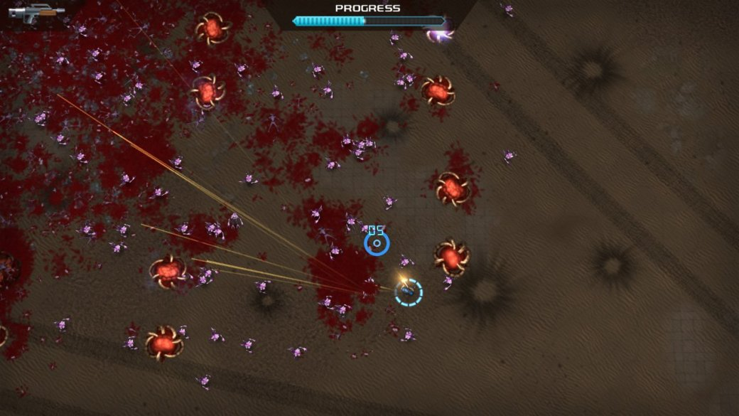 PC и PS4 получат ремейк Crimsonland. - Изображение 1