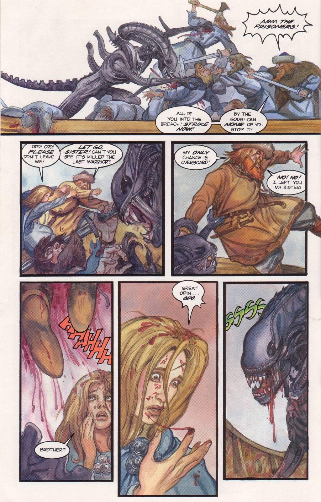 Бэтмен против Чужого?! Безумные комикс-кроссоверы сксеноморфами. - Изображение 22