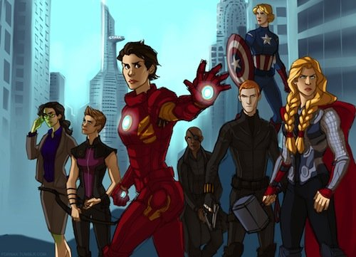 Галерея вариаций: Мстители-женщины, Мстители-дети... - Изображение 17