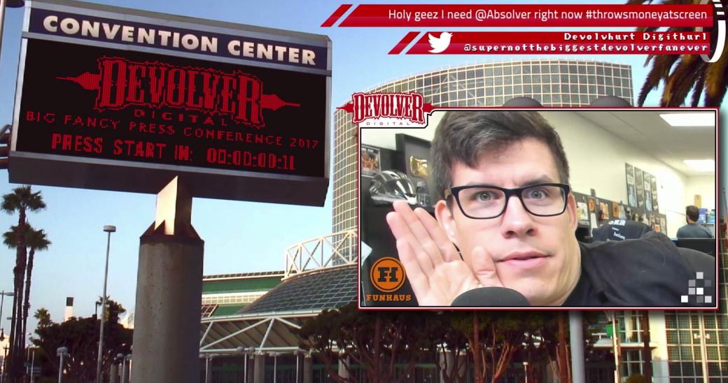 Время лепить мемасы! Галерея лучших кадров с шоу Devolver на E3 2017 - Изображение 10