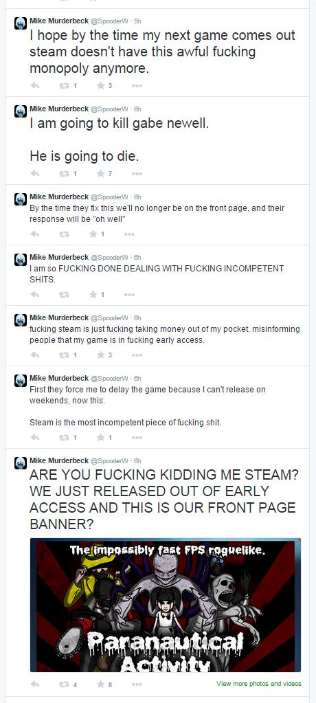 Игра разработчика, обещавшего убить Гейба Ньюэлла, вернулась в Steam  - Изображение 1