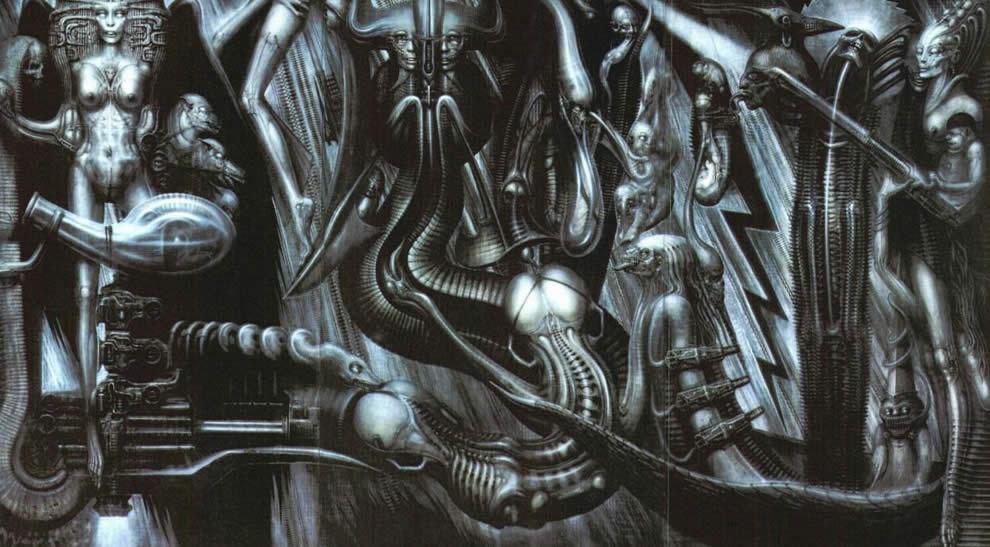 Галерея самых жутких артов Гигера. Страсть, секс истрах - Изображение 3