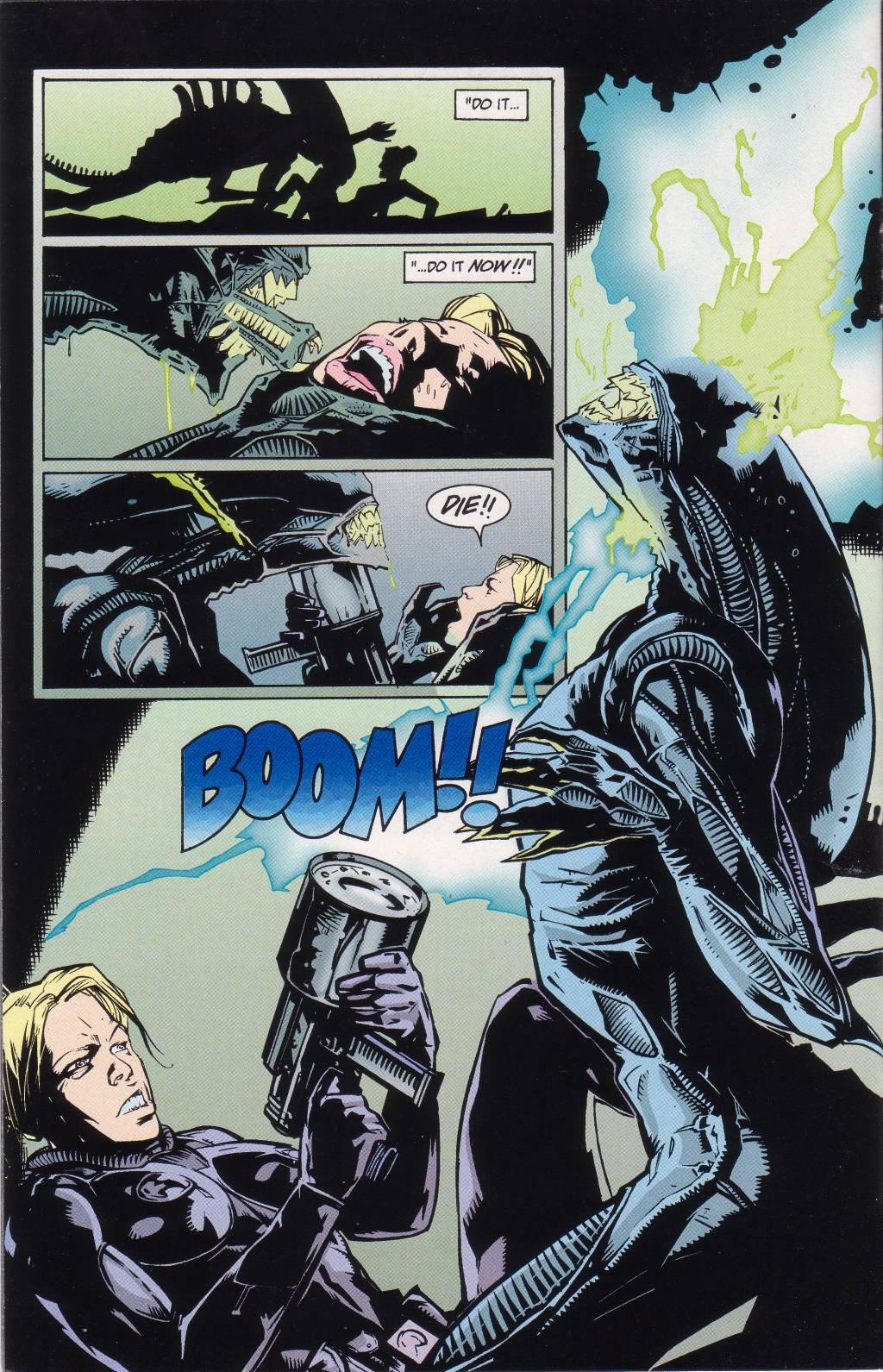 Бэтмен против Чужого?! Безумные комикс-кроссоверы сксеноморфами. - Изображение 10