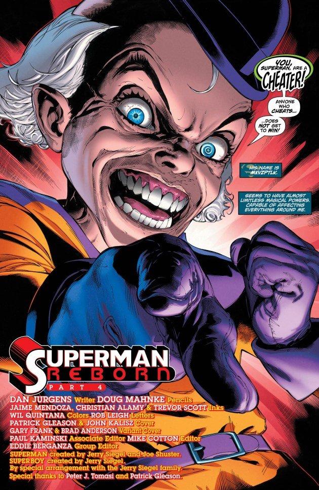 Вся вселенная DC Rebirth изменилась в финале Superman Reborn - Изображение 1