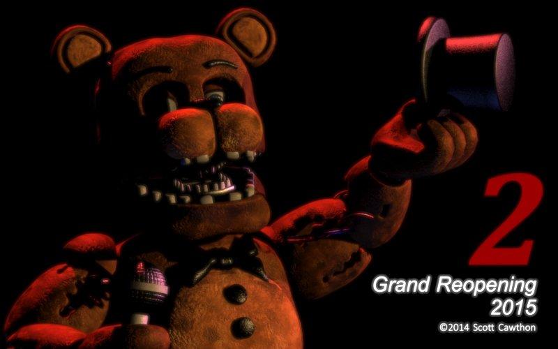 Five Nights at Freddy's напугает еще раз в 2015 году - Изображение 1