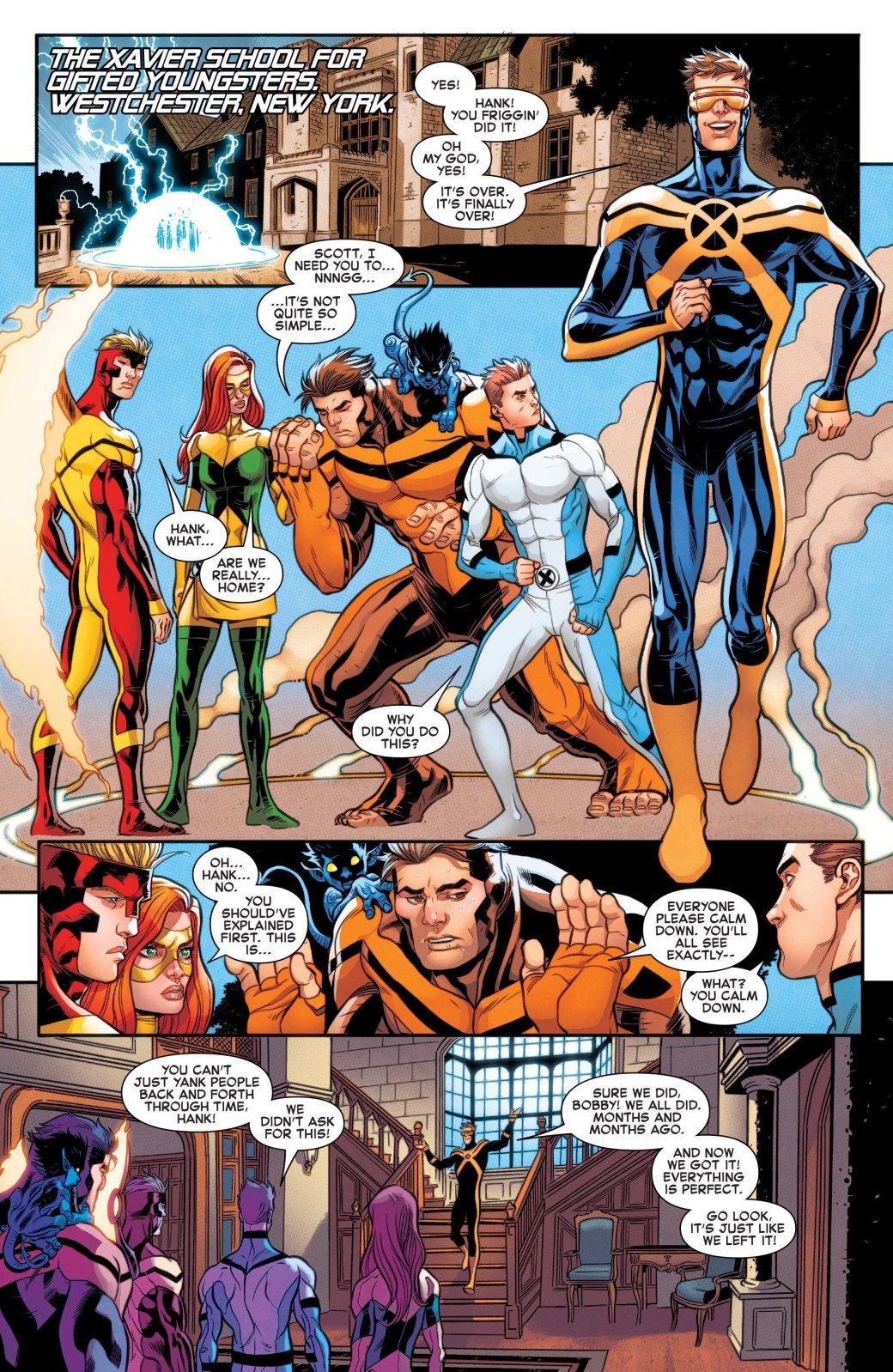 Люди Икс из прошлого не смогут вернуться обратно - Изображение 3