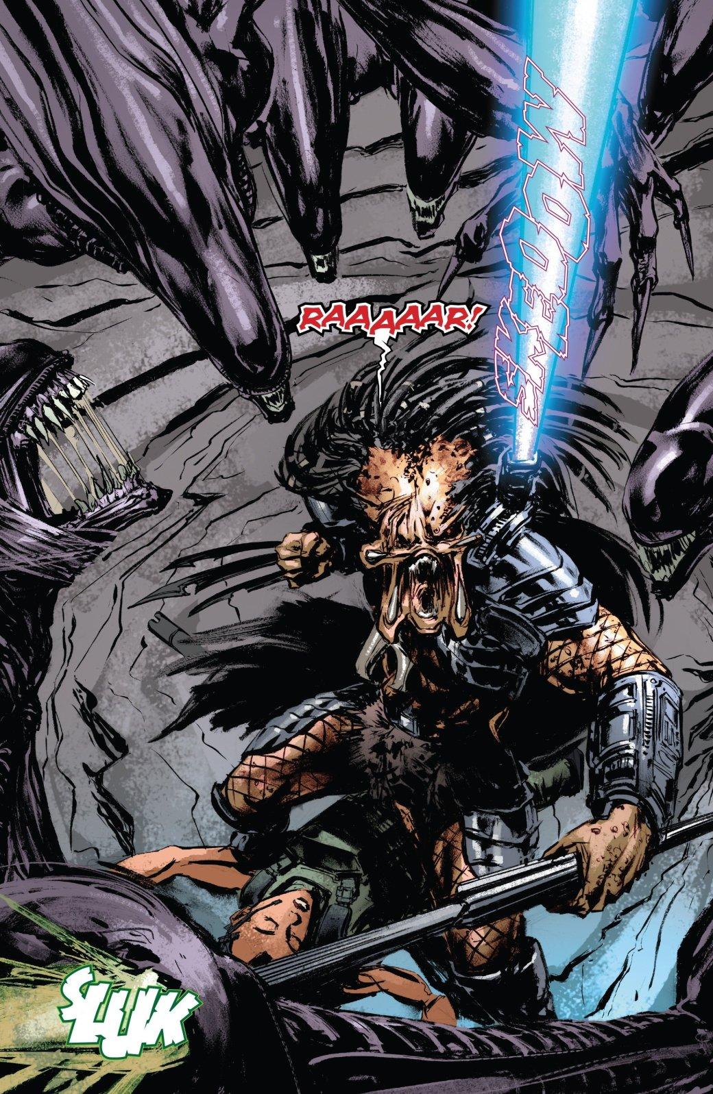 Бэтмен против Чужого?! Безумные комикс-кроссоверы сксеноморфами. - Изображение 13