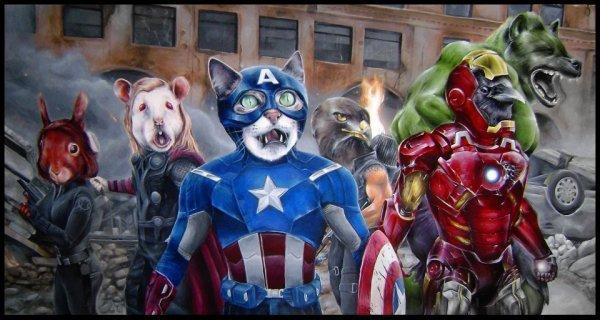 Галерея вариаций: Мстители-женщины, Мстители-дети... - Изображение 104