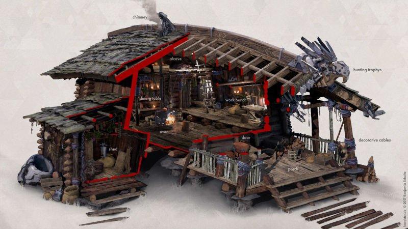 Прекрасные концепты Horizon: Zero Dawn отхудожников «Игры престолов» - Изображение 1