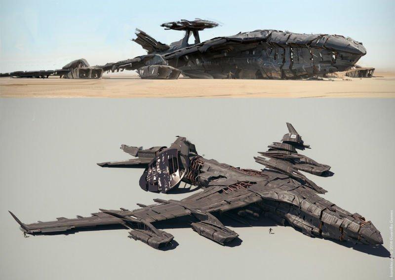 Прекрасные концепты Horizon: Zero Dawn отхудожников «Игры престолов» - Изображение 17