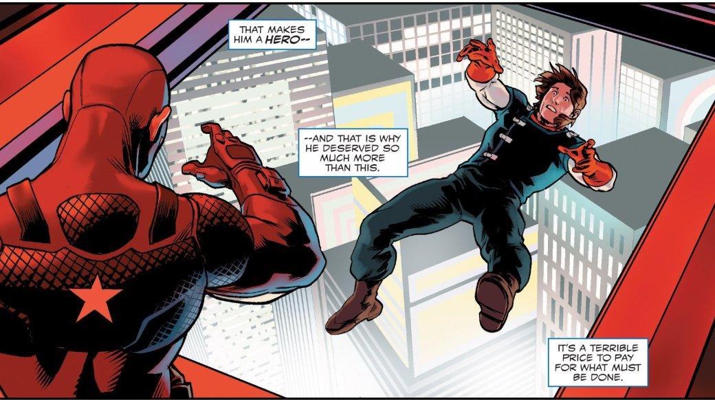 Как Капитан Америка предал все ради власти над Гидрой ивсем миром. - Изображение 22