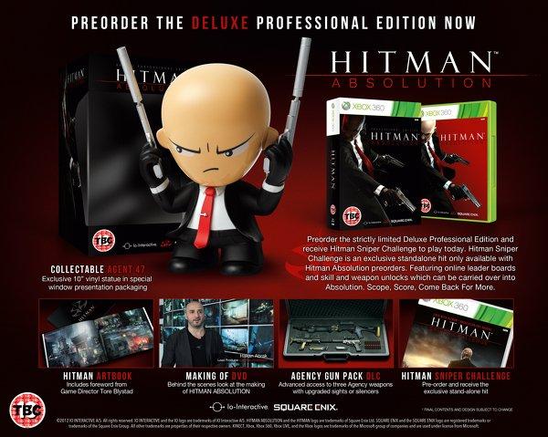 Анонсирована коллекционная версия Hitman: Absolution - Изображение 1