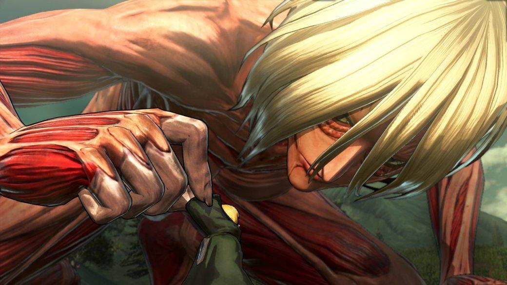В Attack on Titan для PS4/PS3 можно будет играть Титанами - Изображение 1