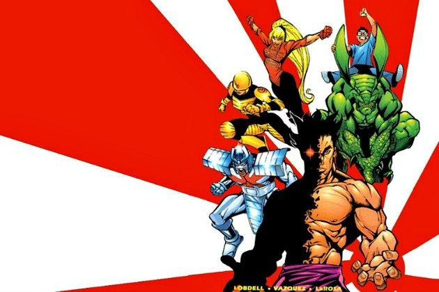комиксы с мульт героями