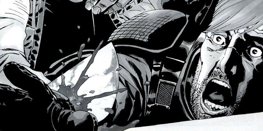 12 самых жестоких сцен в комиксе «Ходячие мертвецы». - Изображение 8