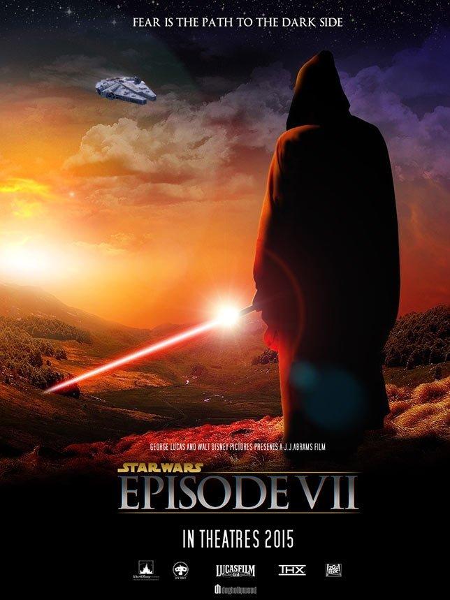 Фанатские постеры Star Wars: Episode VII - Изображение 22