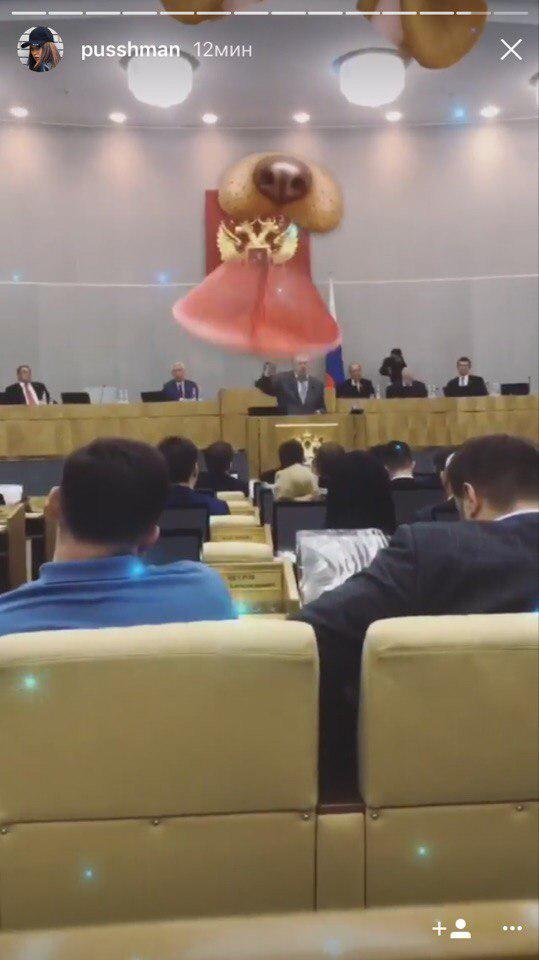 Юлия Пушман («Взломать блогеров») в Госдуме. Два очень странных фото. - Изображение 3