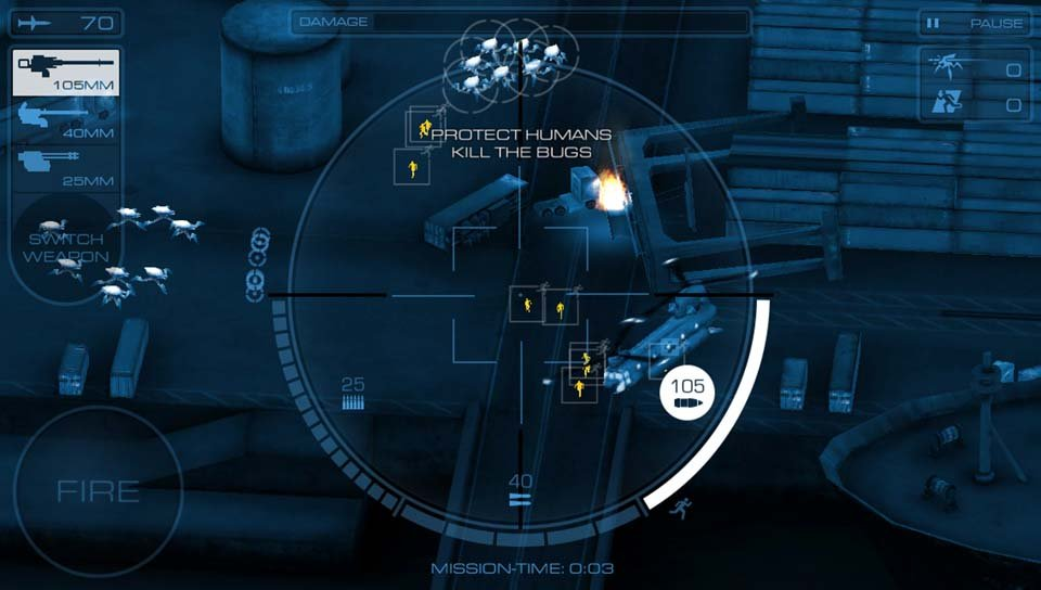 На PS Vita перенесут авиашутер в духе «Звездного десанта»  - Изображение 1