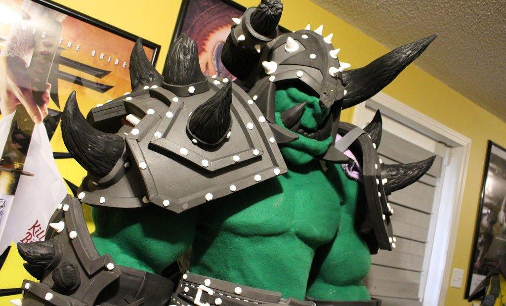 Правдивый костюм орка World of Warcraft опасен для жизни косплееров - Изображение 1