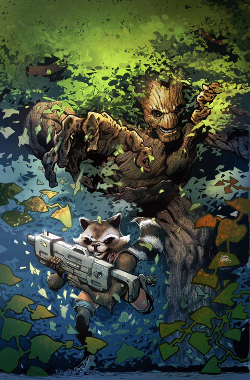 Комикс про Грута, деревянная Гвен Стейси и «муравьиные» обложки - Изображение 3