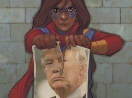 Американские сценаристы и художники комиксов недовольны Трампом