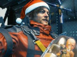 ВDeath Stranding вовсю готовятся кРождеству— NPC начали носить шапки Санта-Клауса