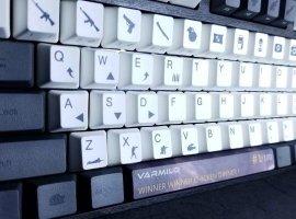 Клавиатура с идеальными биндами для игроков в PUBG