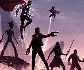 Нановых постерах «Войны Бесконечности» Мстители противостоят Таносу наруинах