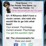 Скриншот Rihanna Quizzle – Изображение 5