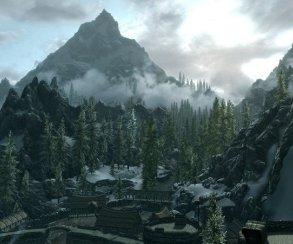 Гифка дня: рожающая скала в Skyrim