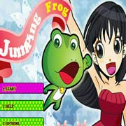 frog jumping adventure
