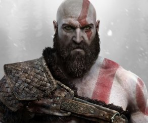 Вот это да! ​Кратос из God of War без бороды выглядит еще брутальнее
